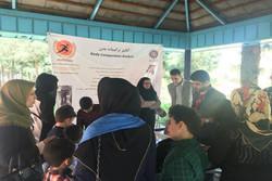 دانش آموزان شمال تهران تحت آموزش های شهروندی قرار گرفتند