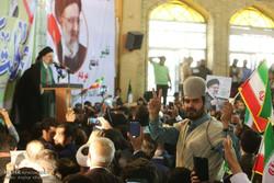 المرشح الرئاسي ابراهيم رئيسي يزور مدينة ياسوج /صور