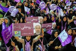 المرشح حسن روحاني يزور مدينة تبريز /صور