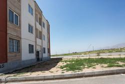 خیابان و کوچه های بی نام مسکن مهر 3000 واحدی نظرآباد
