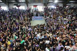 زيارة المرشح الرئاسي حسن روحاني الى محافظة مازندران الشمالية