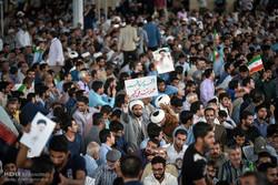زيارة المرشح الرئاسي ابراهيم رئيسي لمدينة شيراز جنوب ايران