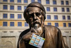 الدعايات الانتخابية تملأ شوارع طهران