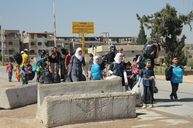Over 2K evacuated from al-Qaboun in Damascus