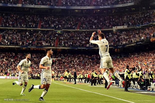 دیدار تیم های فوتبال رئال مادرید و سویا
