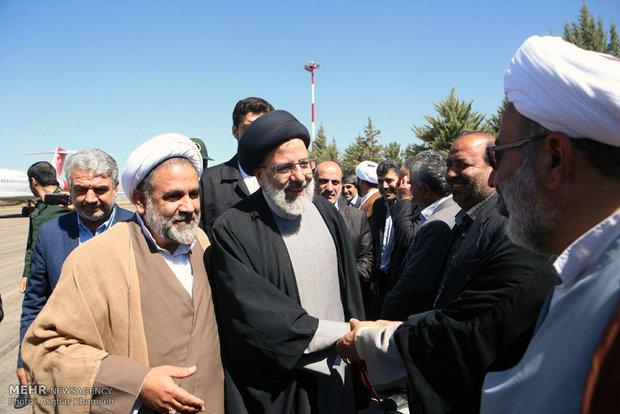 المرشح الرئاسي ابراهيم رئيسي يزور مدينة ياسوج