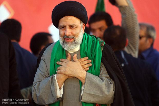اعلام حمایت خانواده شهدای مدافع حرم از سید ابراهیم رئیسی
