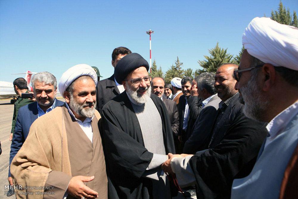 سفر حجتالاسلام سید ابراهیم رئیسی به یاسوج