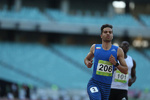 Iranian sprinter wins 100m race at Trackinsun Athletics
