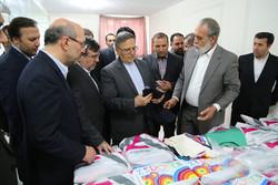 رئیسکل بانک مرکزی از چند واحد صنعتی در قزوین بازدید کرد