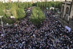 Reisi'nin Tahran'daki seçim kampanyası