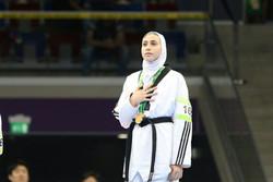 دختر ایرانی سهمیه المپیک گرفت/ کیانی چهارمین بانوی المپیکی تکواندو