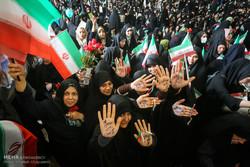 تجمع أنصار المرشح ابراهيم رئيسي في مصلى طهران /صور