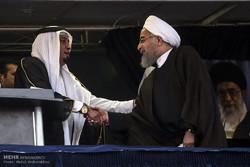 المرشح حسن روحاني يزور محافظة خوزستان /صور