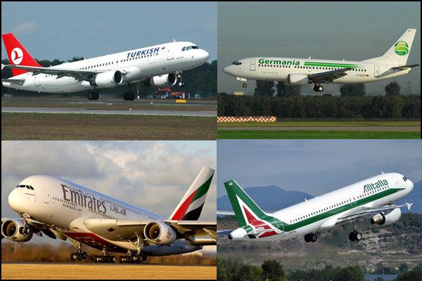 ۲ میلیون سفر هوایی در جهان لغو شد/ کاهش ۶۵ درصدی فروش بلیت
