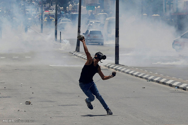 تظاهرات «روز خشم» در غزه و کرانه باختری/حمله صهیونیستها به جوانان