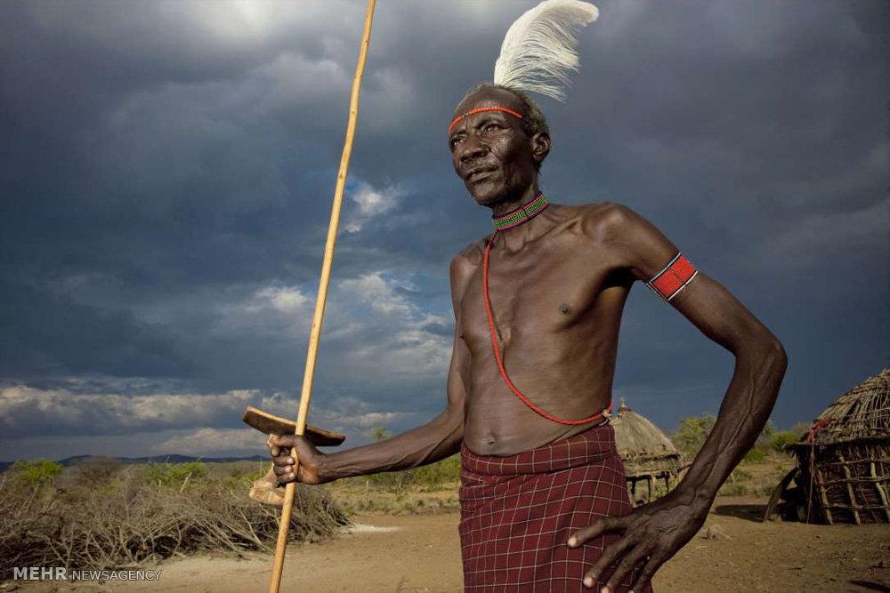 اعضای قبایل آفریقایی
