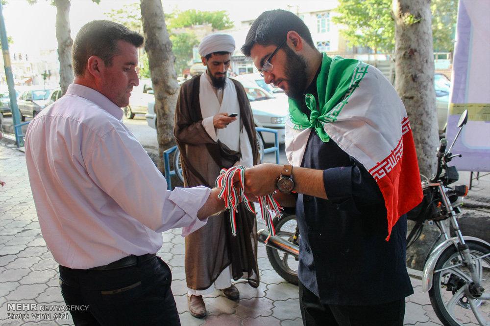 تبلیغات خیابانی کاندیداها در استانها