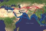 راههای تاریخی وسیله انتقال فرهنگها، دینها و کالاها بودند