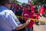 تظاهرات ضد اردوغان
