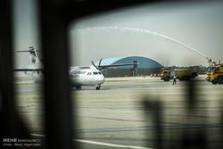 فرود 4 فروند هواپیمای ATR در فرودگاه مهرآباد