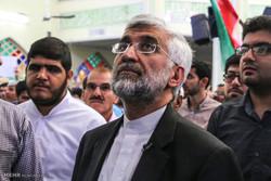«سعید جلیلی»در مراسم تشییع پیکر سردار شهید سلیمانی حضور یافت