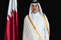 أمير قطر يعزي الرئيس روحاني بحادثة الطائرة الايرانية المنكوبة