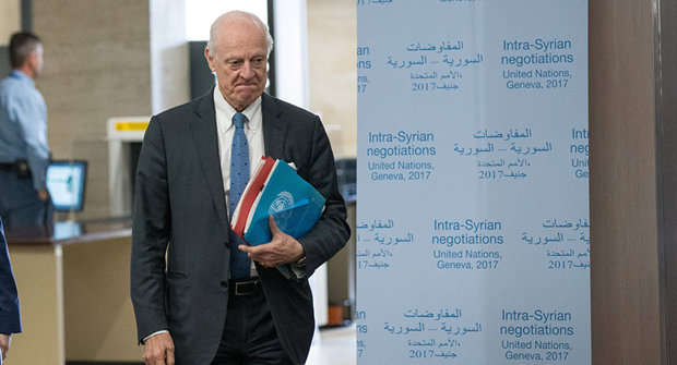 De Mistura proposes to create consultative mechanism on Syria's const'l issues