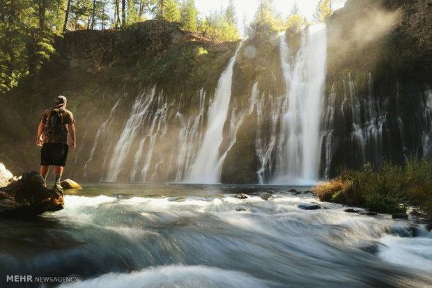 تصاویر/ زیباترین آبشارهای آمریکا