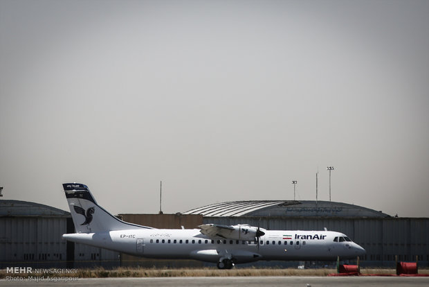 4 ATR aircrafts land in Iran