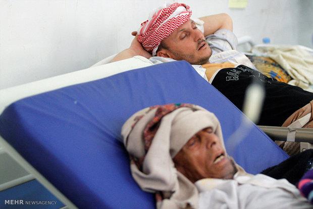 تصاویر/ وبا در یمن