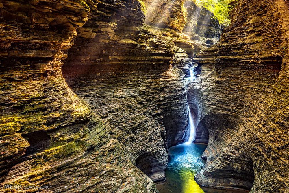 زیباترین آبشارهای آمریکا