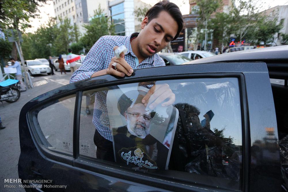 آخرین ساعت های تبلیغات انتخابات ریاست جمهوری در سطح شهر تهران