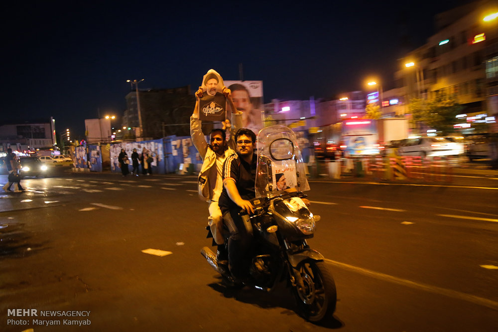 آخرین ساعات تبلیغات انتخابات ریاست جمهوری در سطح شهر تهران -4