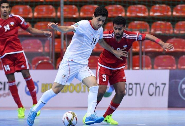 Iran advance to AFC U-20 Futsal Championship semi-final