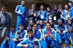 İranlı milli sporcular Bakü'de sandık başında