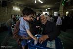 انتخابات استان قزوین با سلامت و صحت در حال برگزاری است