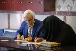 حضور مصطفی هاشمی طبا در انتخابات