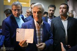 حضور هاشمی طبا در انتخابات