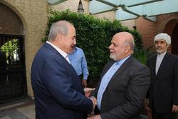 السفير الايراني ببغداد يلتقي اياد علاوي