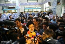 رئيسي: آلية الانتخابات في ايران تبعث على الاطمئنان