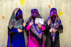 İran'ın Bujnurd ilçesinde halk sandık başında
