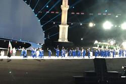 بازی های کشورهای اسلامی - کاروان ورزش ایران