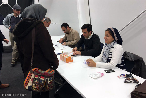 Iranians cast their ballots in New Zealand