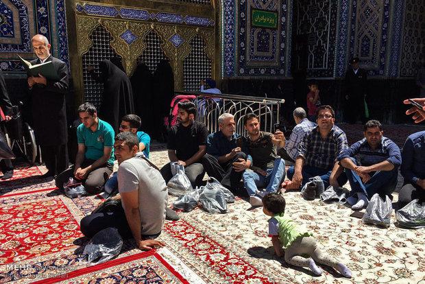 مشاهد من المشاركة في الانتخابات الرئاسية والبلدية في مشهد