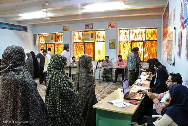 انتخابات ریاست جمهوری و شورای اسلامی شهر و روستا در هشت بندی هرمزگان