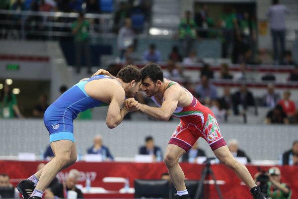 Nasiri bags Iran's 70th medal at Baku 2017