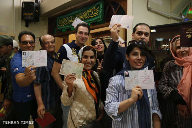 Historic elections in Iran