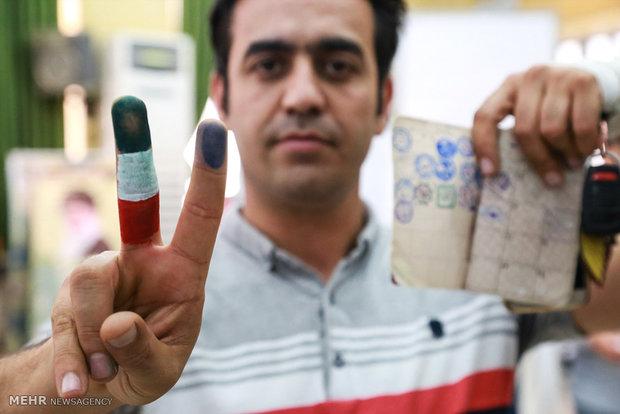 Polls closed in Iran
