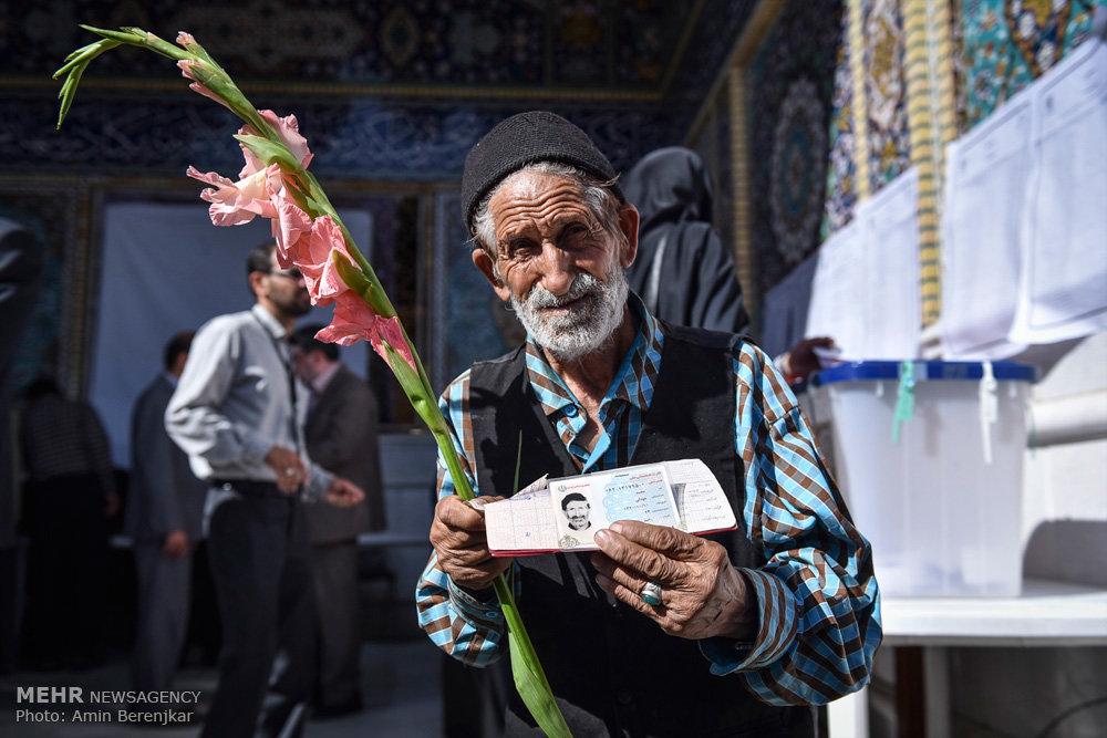 انتخابات ریاست جمهوری و شورای اسلامی شهر و روستا در شیراز
